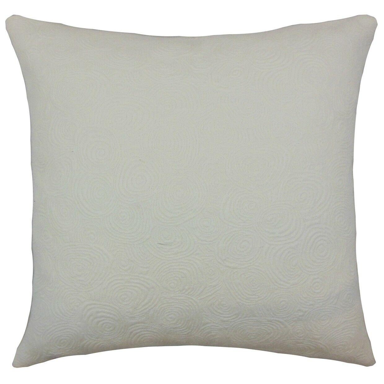 Letitia Graphic Bedding Sham Color: Ivory, Size: Standard