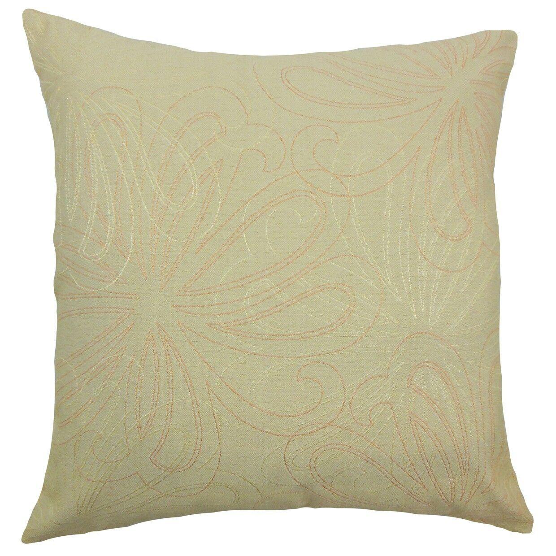 Pomona Floral Bedding Sham Size: Euro, Color: Freesia