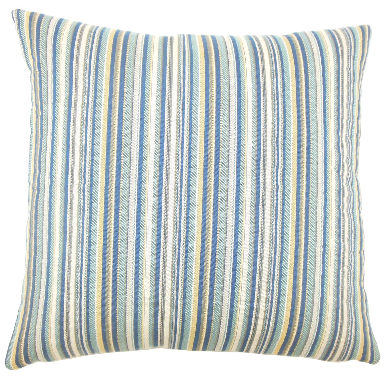 Charnell Striped Bedding Sham Size: King