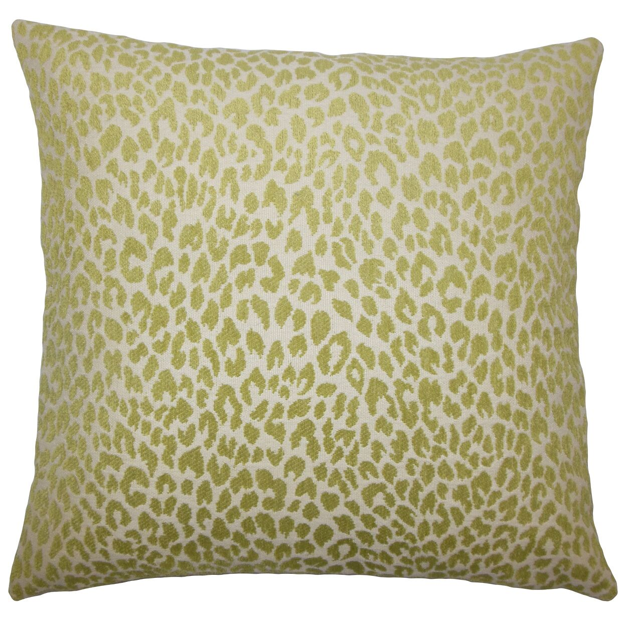Banagher Animal Print Bedding Sham Size: King, Color: Kiwi