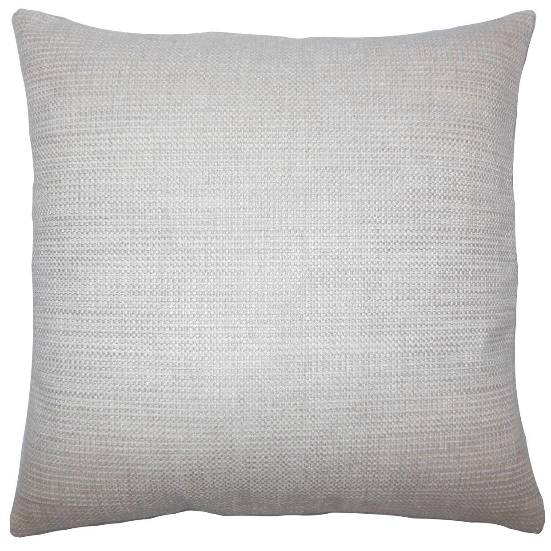 Daker Weave Bedding Sham Size: Queen, Color: Linen