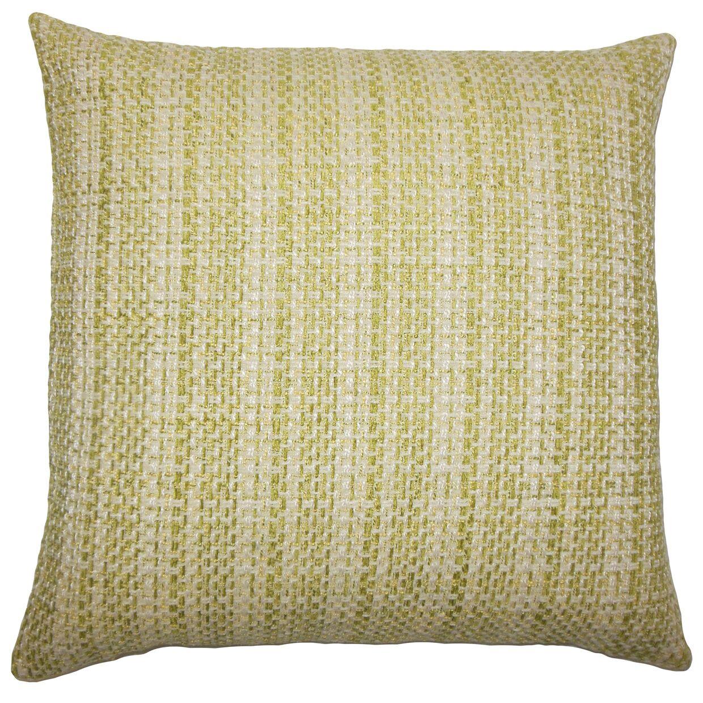 Xorn Plaid Bedding Sham Color: Leaf, Size: Standard