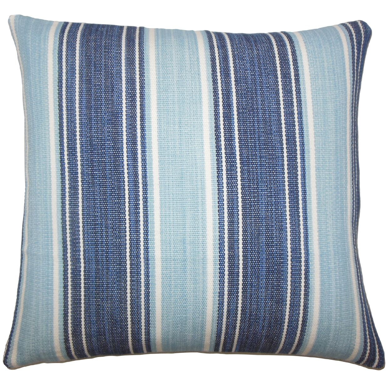 Ferlin Stripe Bedding Sham Color: Chambray, Size: Standard
