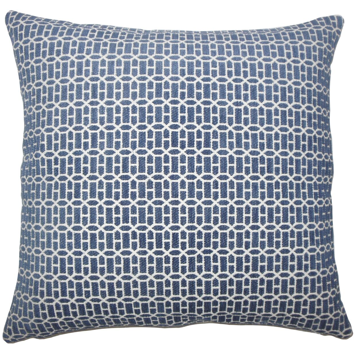 Qiao Bedding Sham Size: King, Color: Lapis