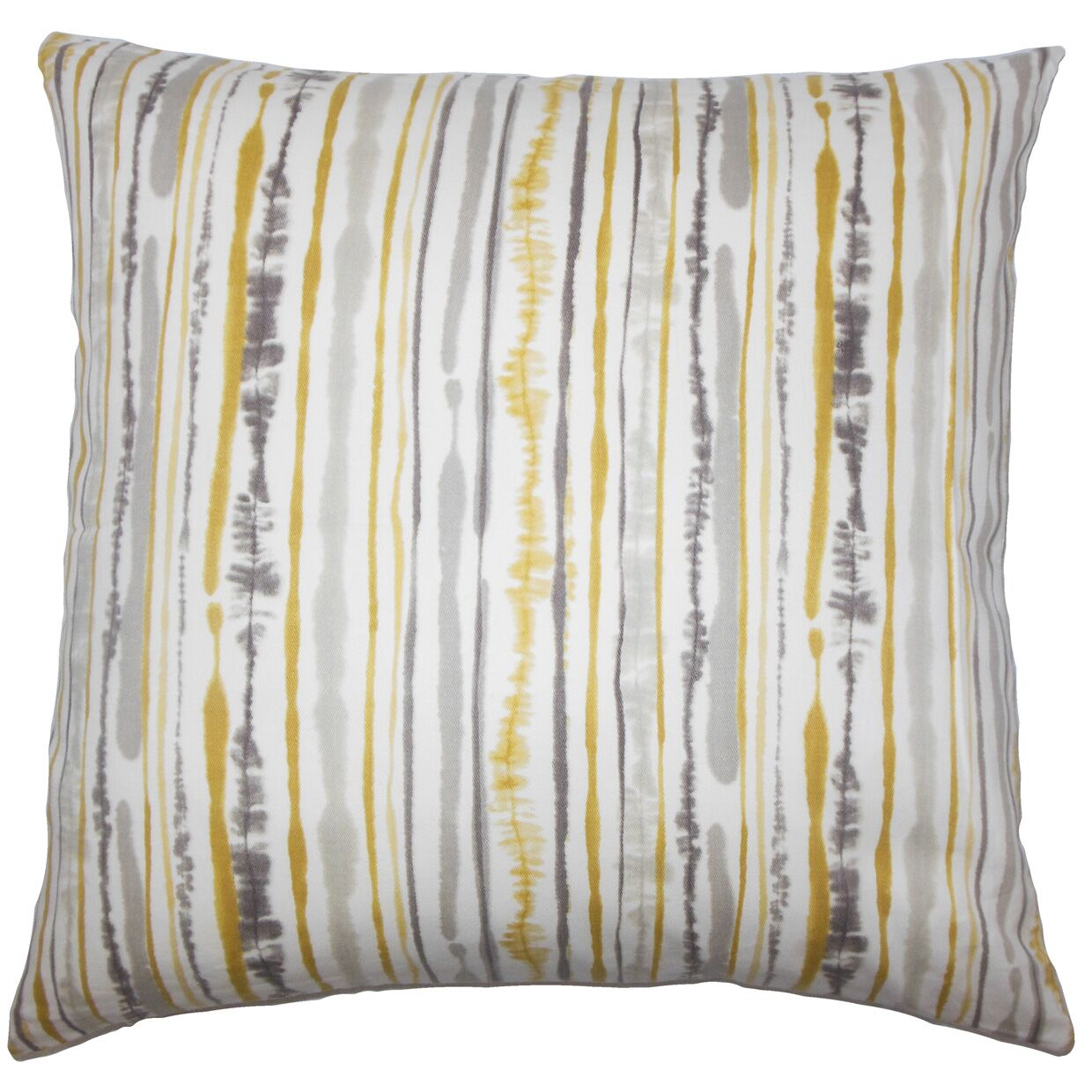 Kidwell Striped Bedding Sham Size: Standard, Color: Yellow