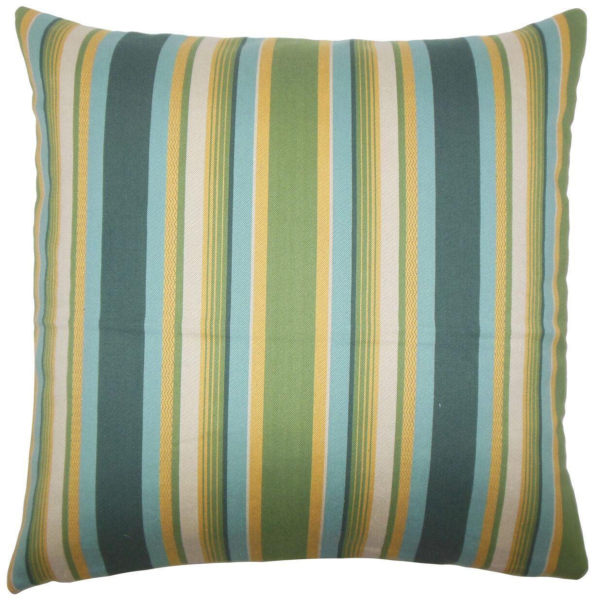 Tefo Striped Bedding Sham Size: Queen, Color: Cabana