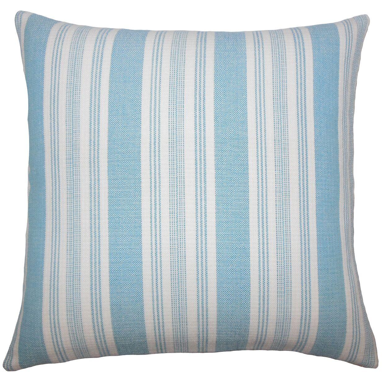 Reiki Striped Bedding Sham Size: King, Color: Turquoise