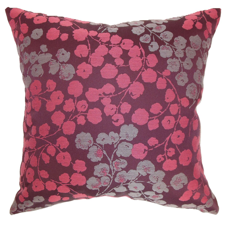 Fleur Floral Bedding Sham Size: Standard