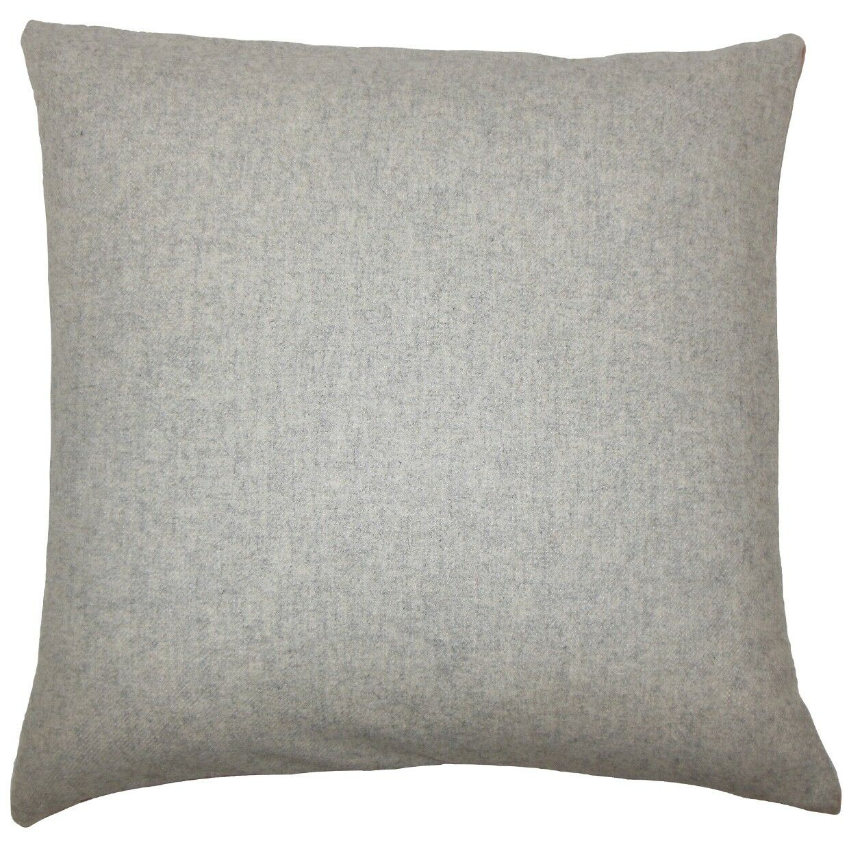 Vella Indoor Wool Throw Pillow Color: Grey, Size: 20