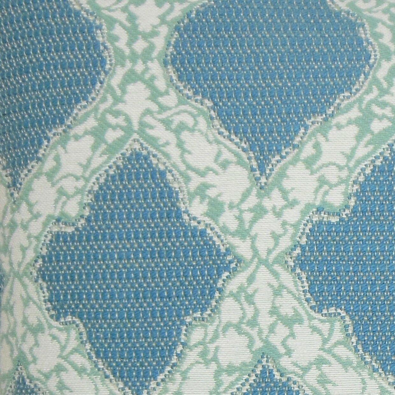 Rajiya Geometric Bedding Sham Size: Euro, Color: Turquoise