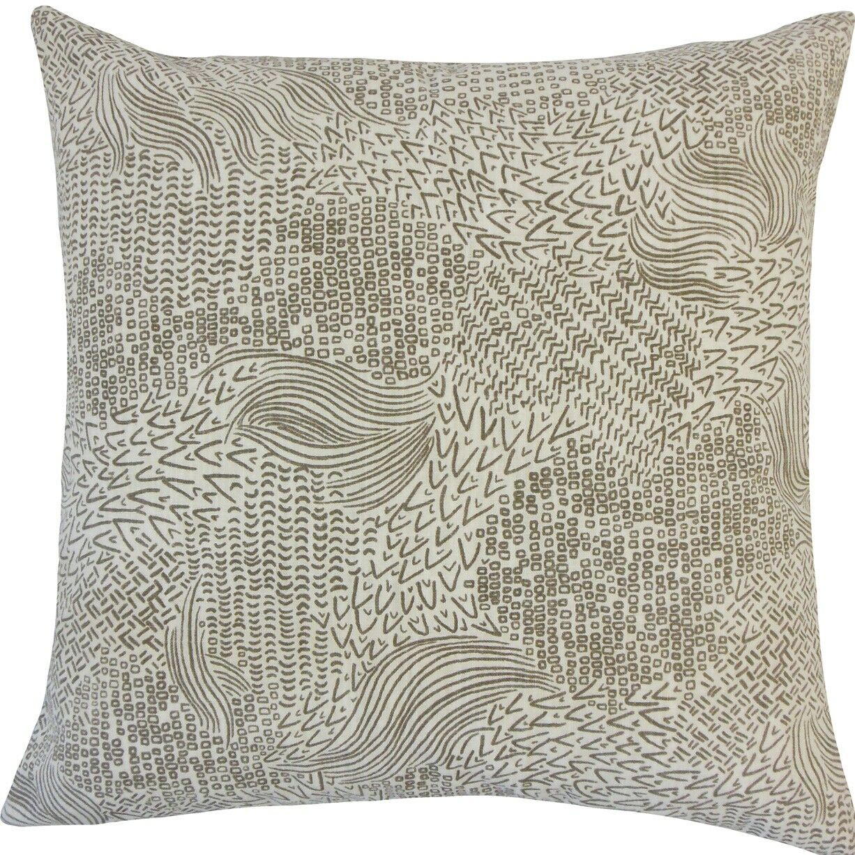 Taisiya Geometric Cotton Throw Pillow Size: 20
