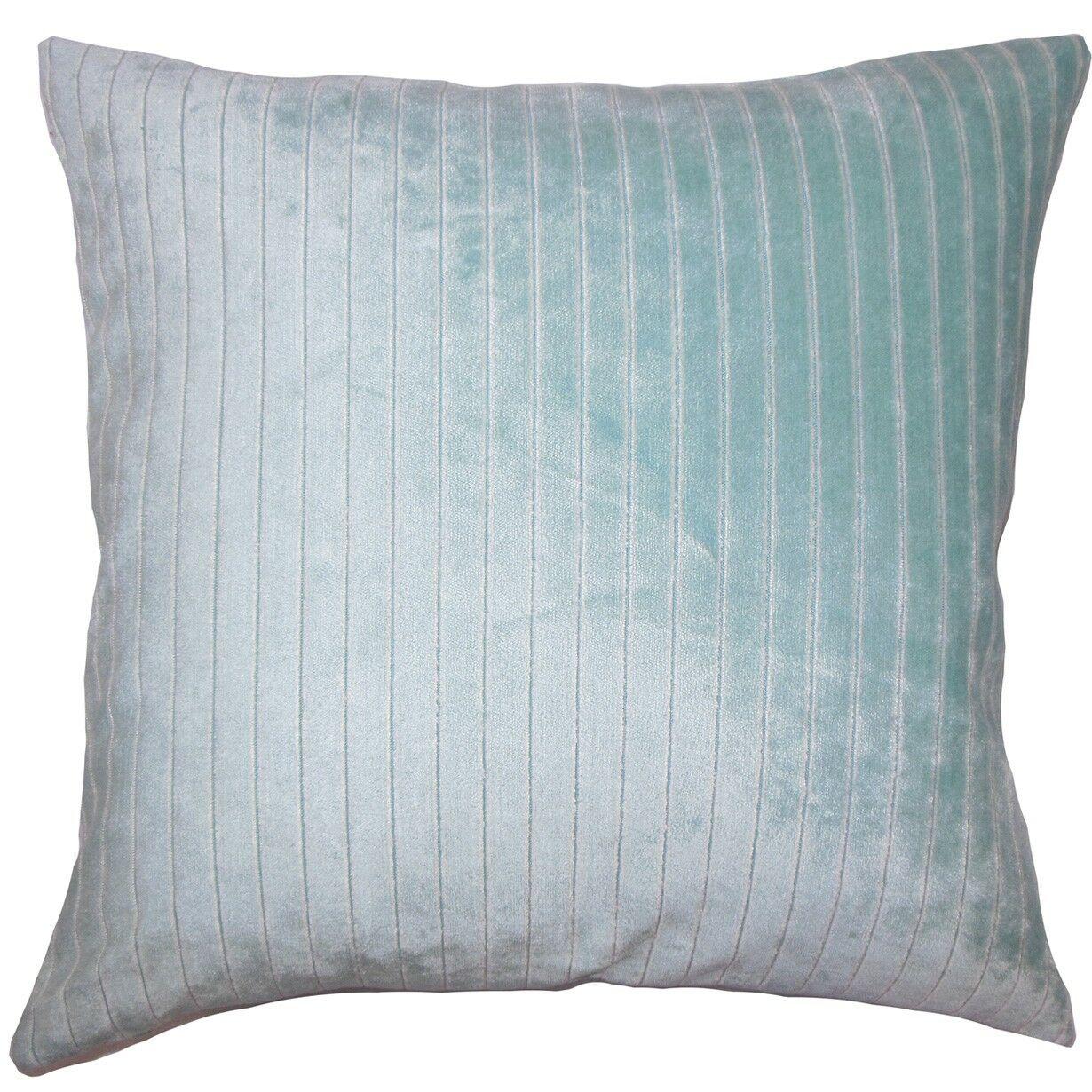 Wanbli Striped Throw Pillow Size: 22