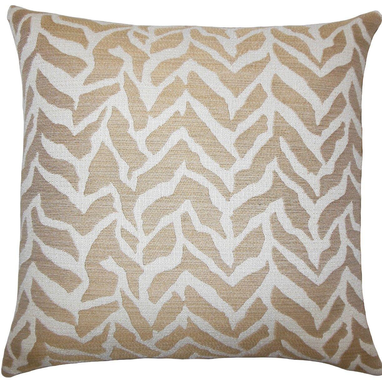 Wakinyela Geometric Throw Pillow Size: 20