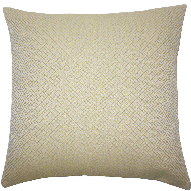 Pertessa Geometric Throw Pillow Size: 20