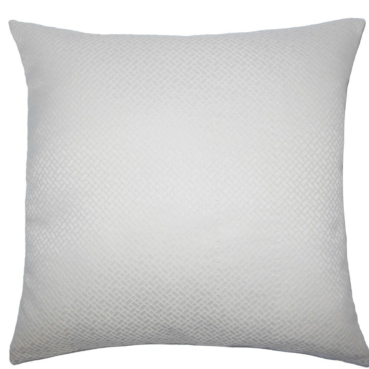Pertessa Geometric Throw Pillow Color: Bone, Size: 24