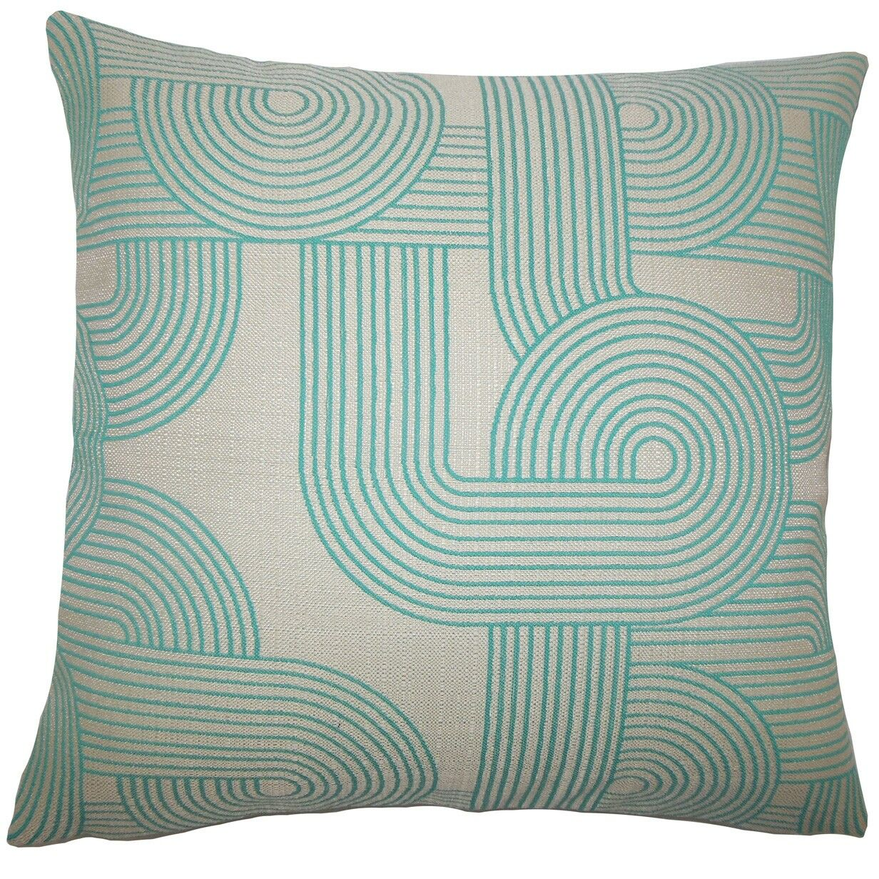 Salus Geometric Throw Pillow Size: 22