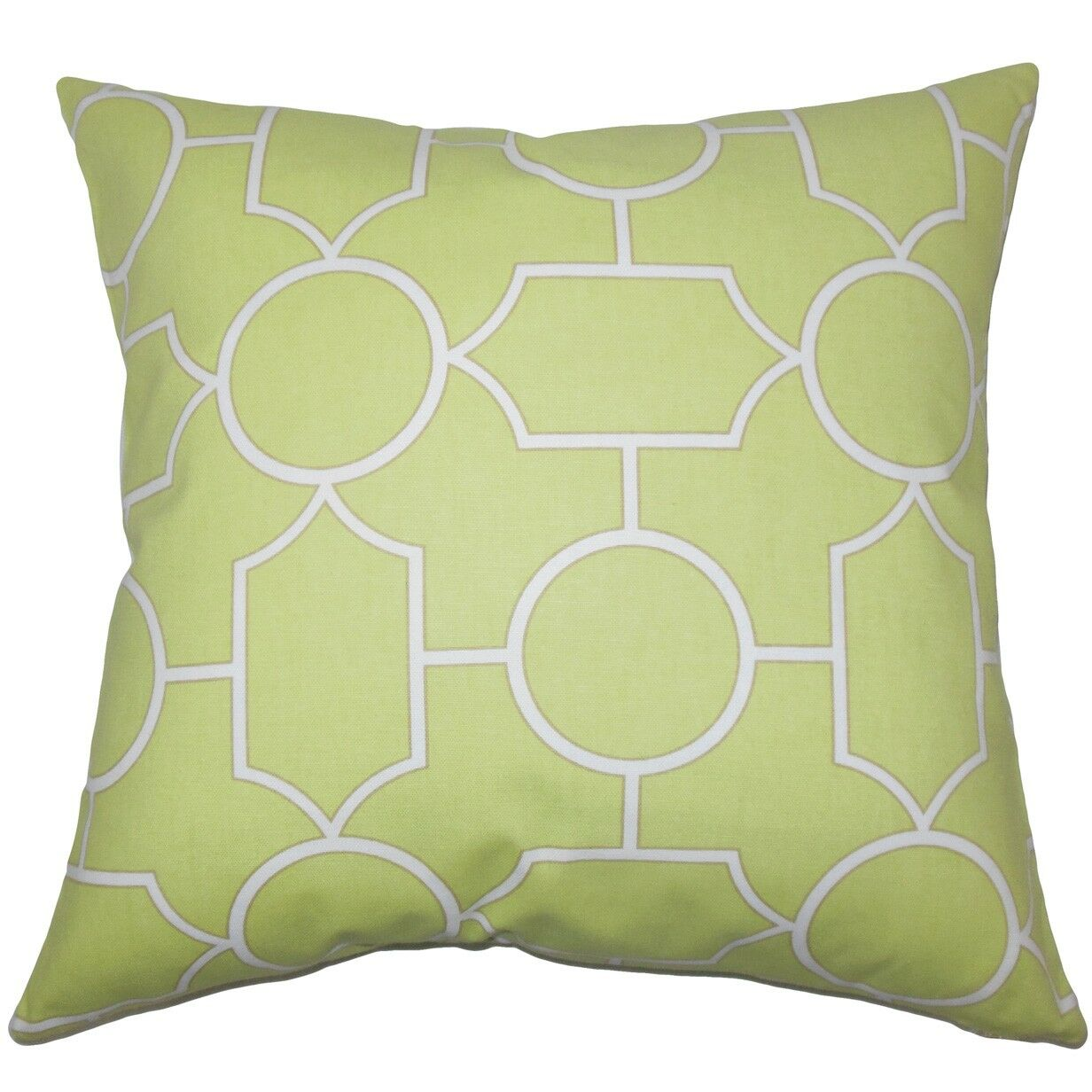 Umed Geometric Cotton Throw Pillow Size: 22