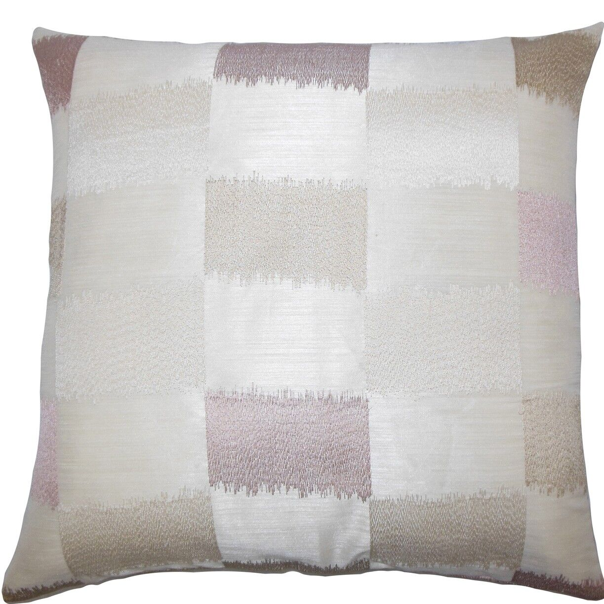 Ruchel Geometric Throw Pillow Color: Natural, Size: 22