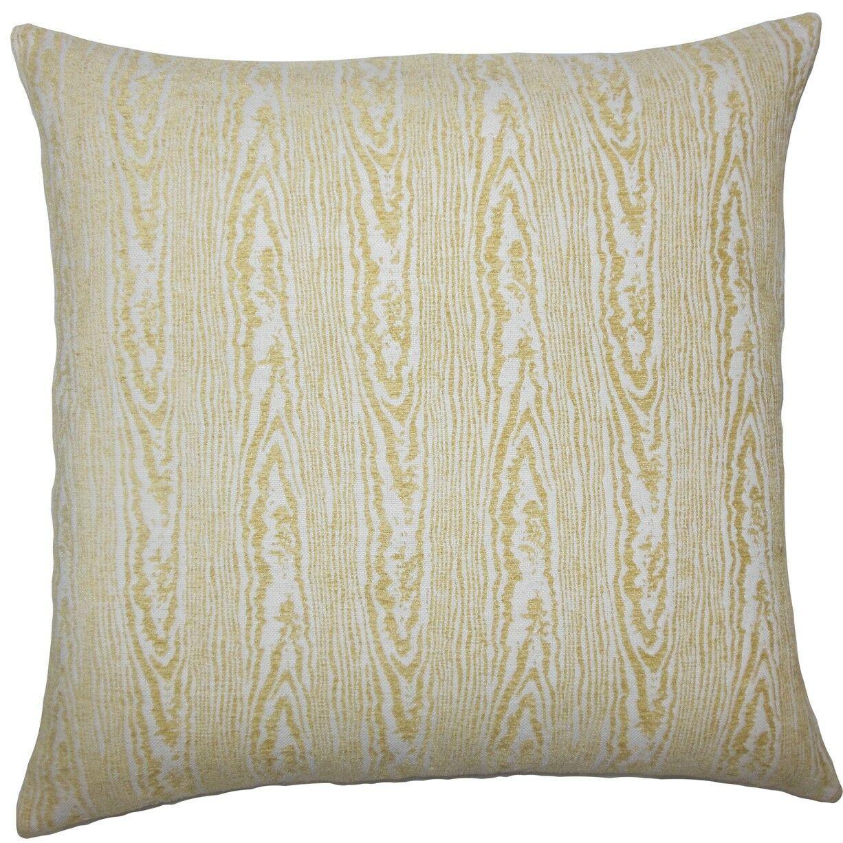 Yestin Marbled Throw Pillow Size: 24