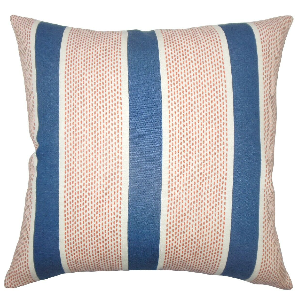 Bandele Striped Cotton Throw Pillow Size: 18