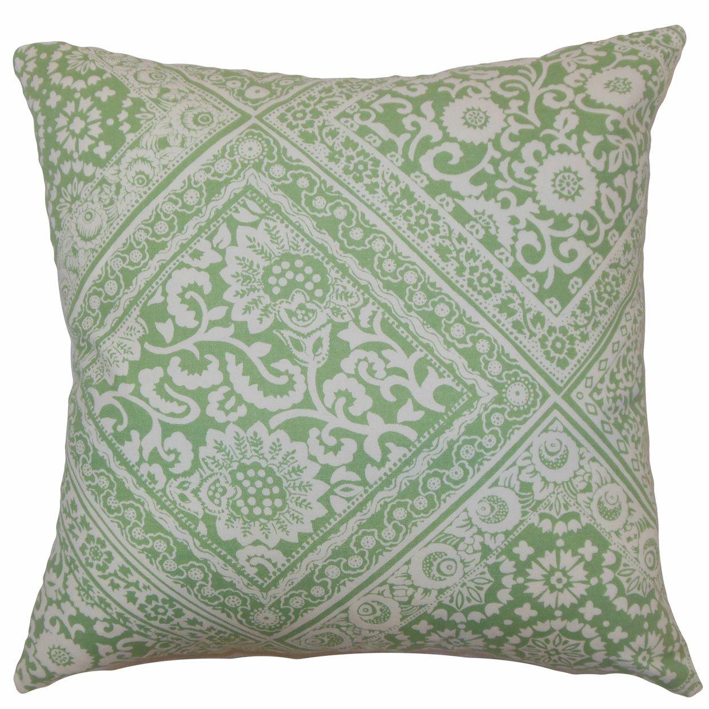 Diahann Floral Floor Pillow