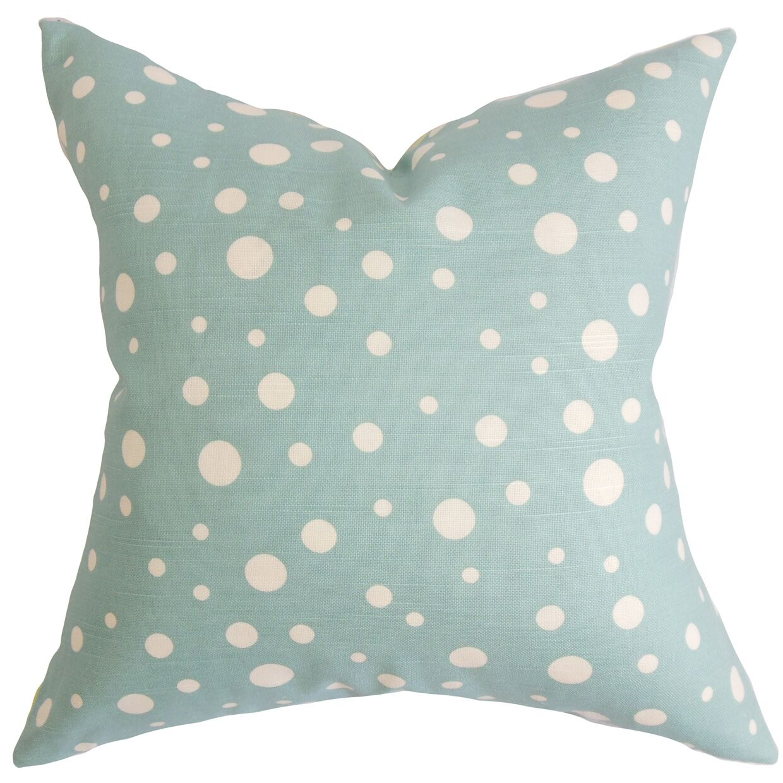 Buschwick Dots Floor Pillow Color: Blue