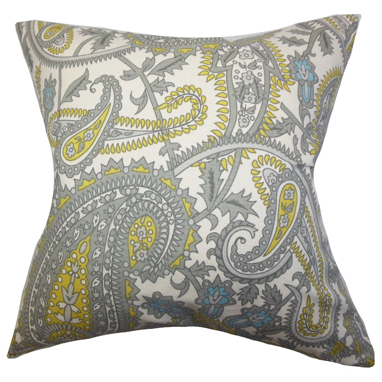 Cockerham Paisley Floor Pillow