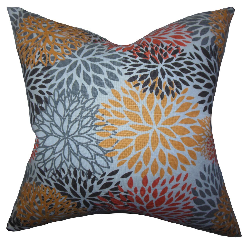 Burmeister Floral Floor Pillow