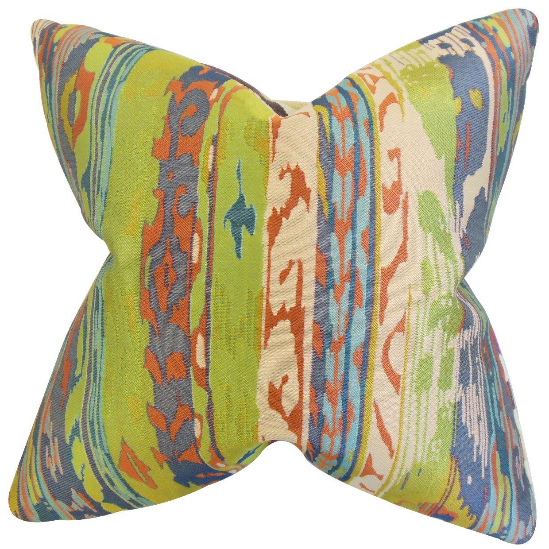 Rappaport Burrus Ikat Floor Pillow
