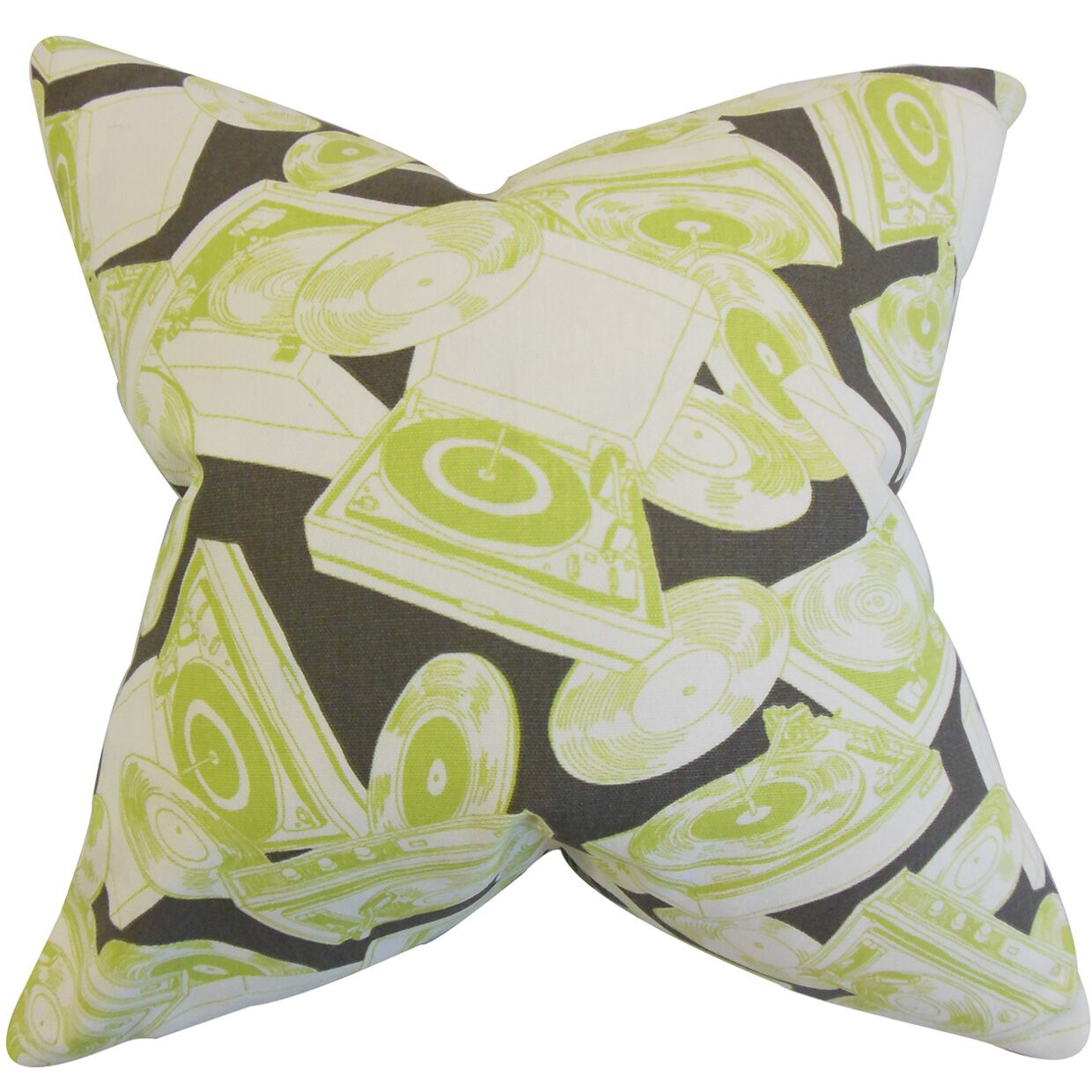 Rucks Geometric Cotton Throw Pillow