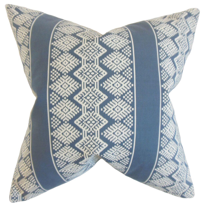 Calista Geometric Floor Pillow
