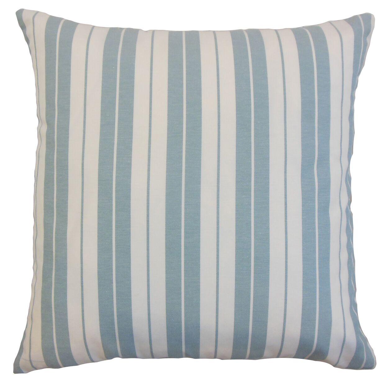 Mcdermott Stripes Floor Pillow Color: Sea