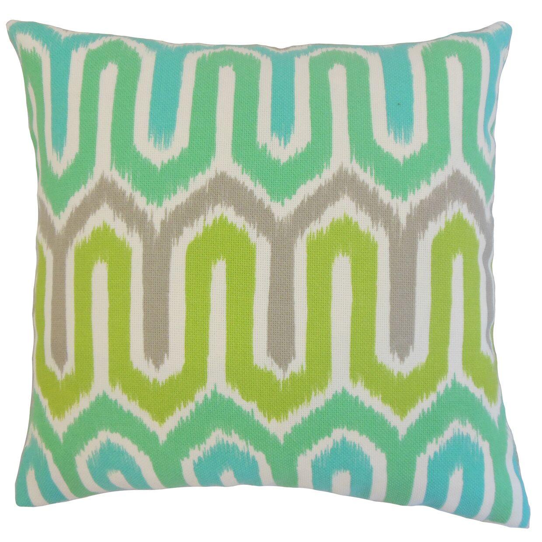 Caston Geometric Floor Pillow