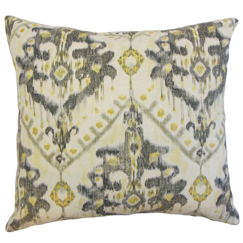 Carlo Ikat Floor Pillow
