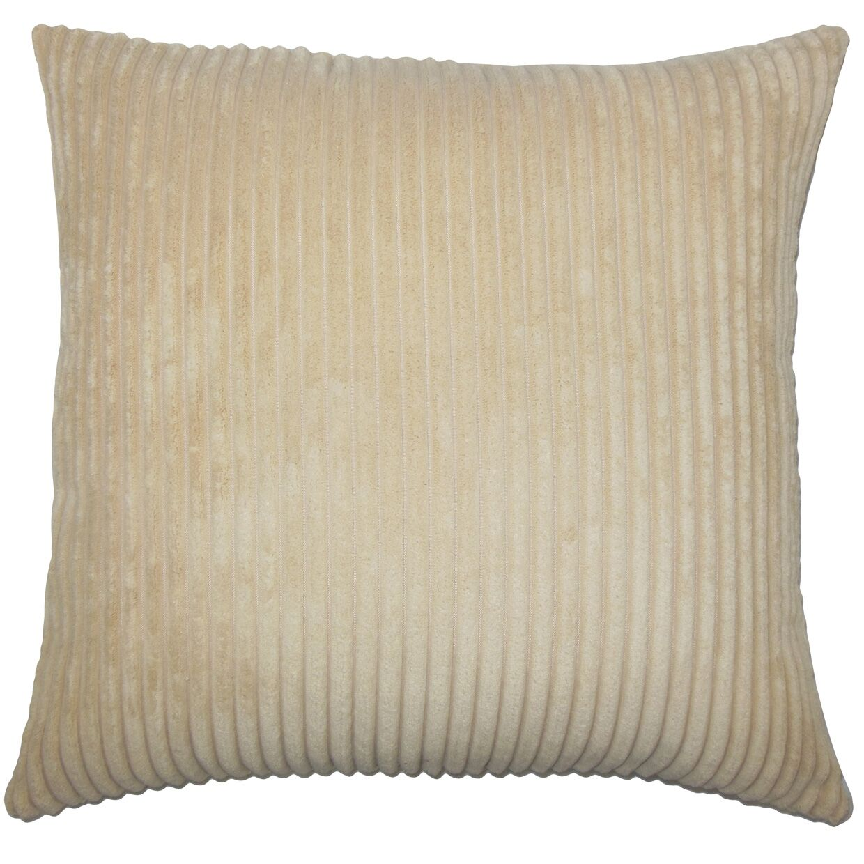 Burchett Solid Floor Pillow Color: Buff