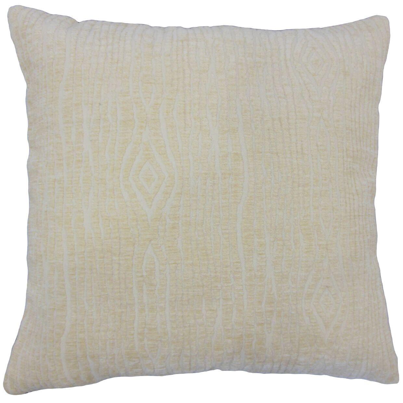 Ceri Solid Floor Pillow Color: Jute