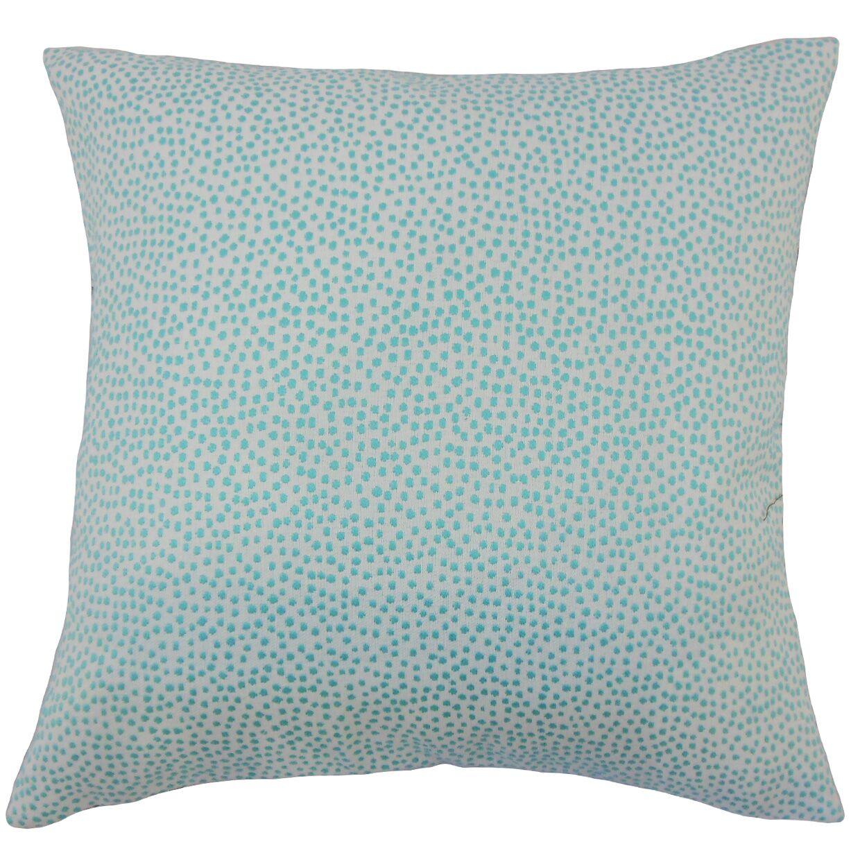 Kroeker Ikat Floor Pillow Color: Turquoise