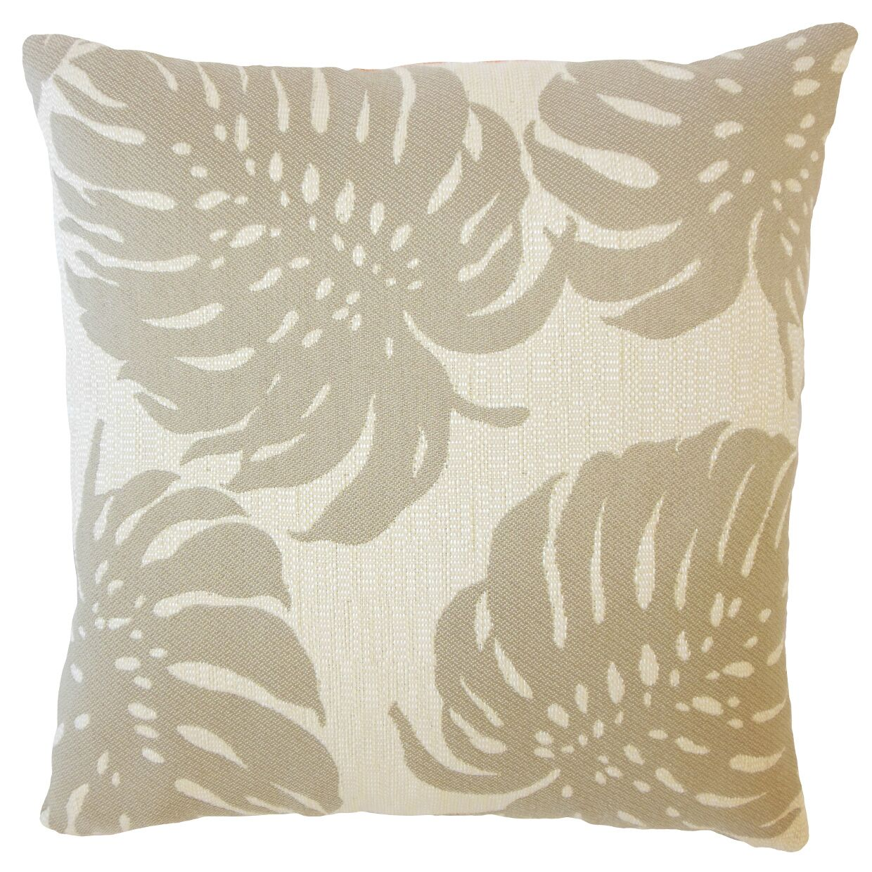 Quaniece Outdoor Down Filled Throw Pillow Size: 24