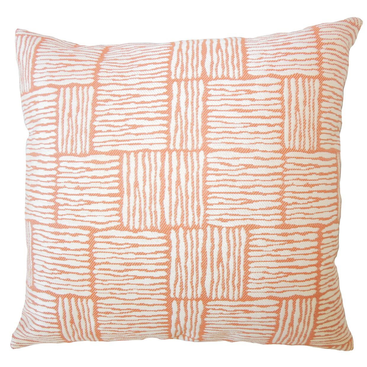 Usher Geometric Down Filled Throw Pillow Size: 24