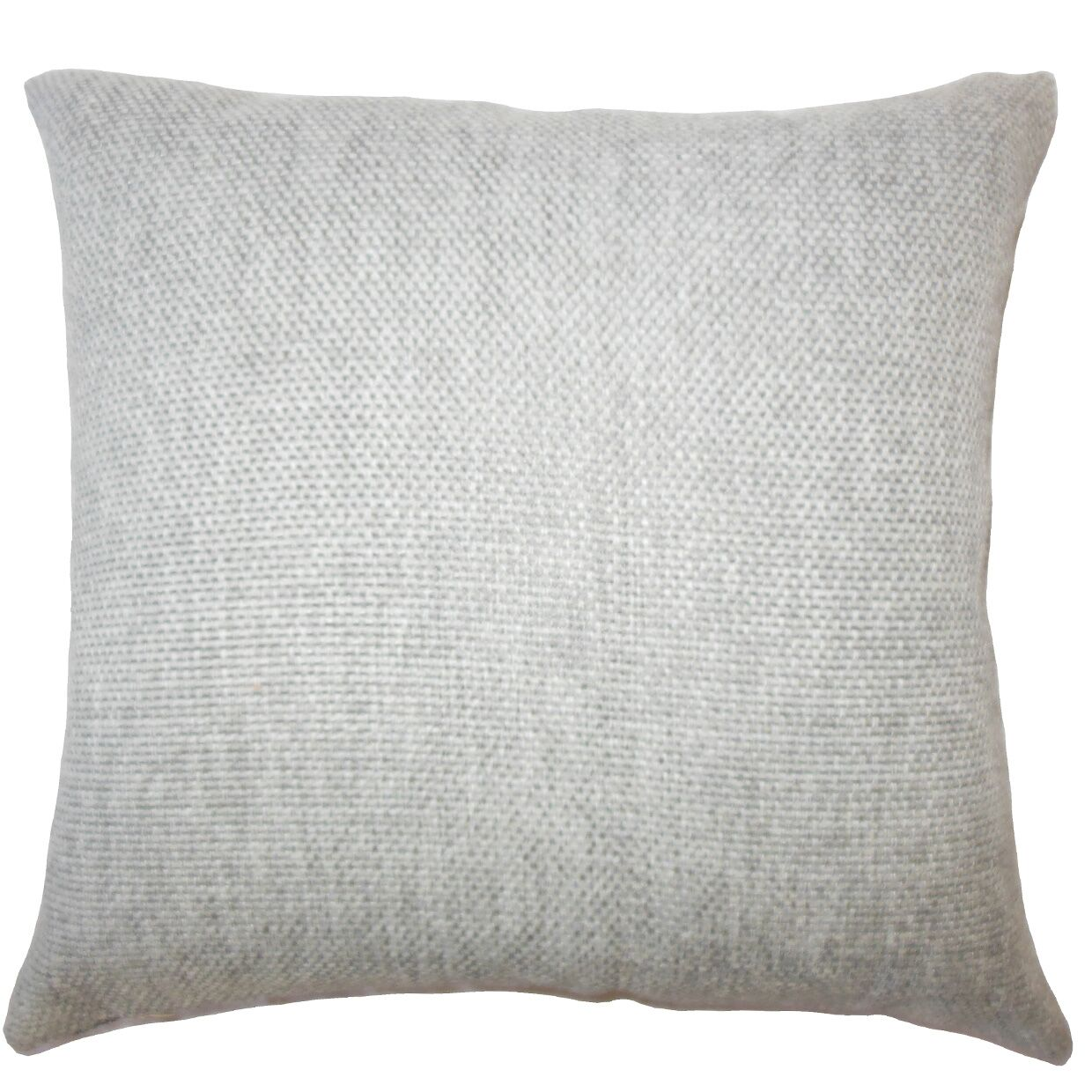 Fryeburg Solid Down Filled Throw Pillow Size: 24