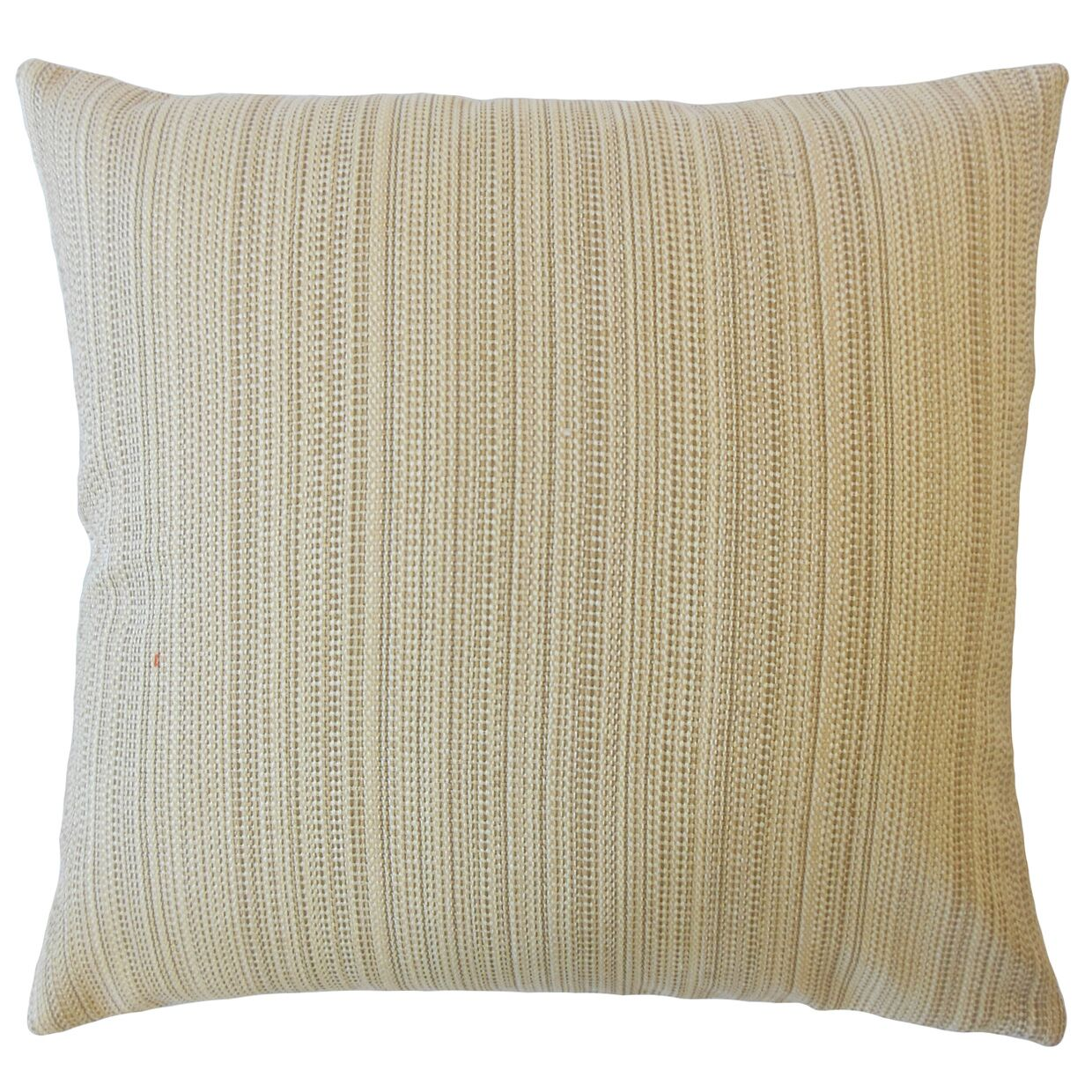 Hampden Striped Down Filled Throw Pillow Size: 22