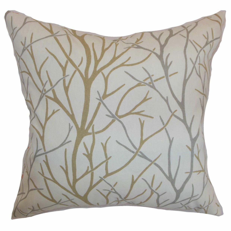 Fderik Trees Cotton Throw Pillow Size: 20