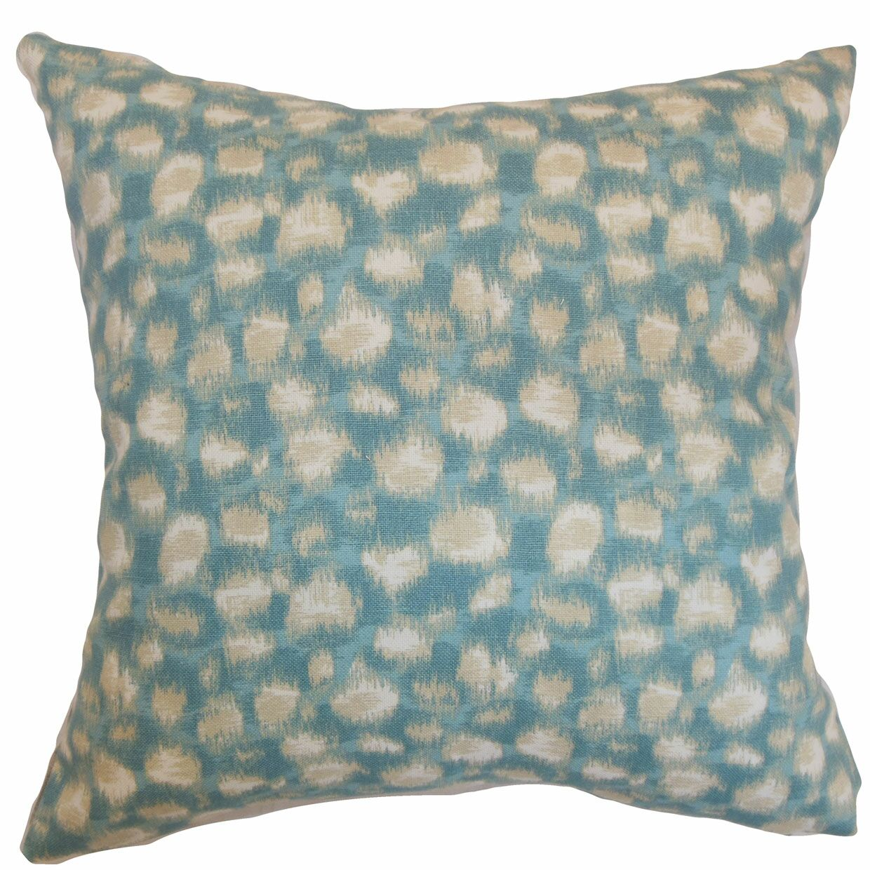 Kibby Bedding Sham Size: King, Color: Aqua