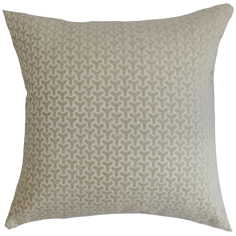 Cinquefoil Geometric Bedding Sham Size: King