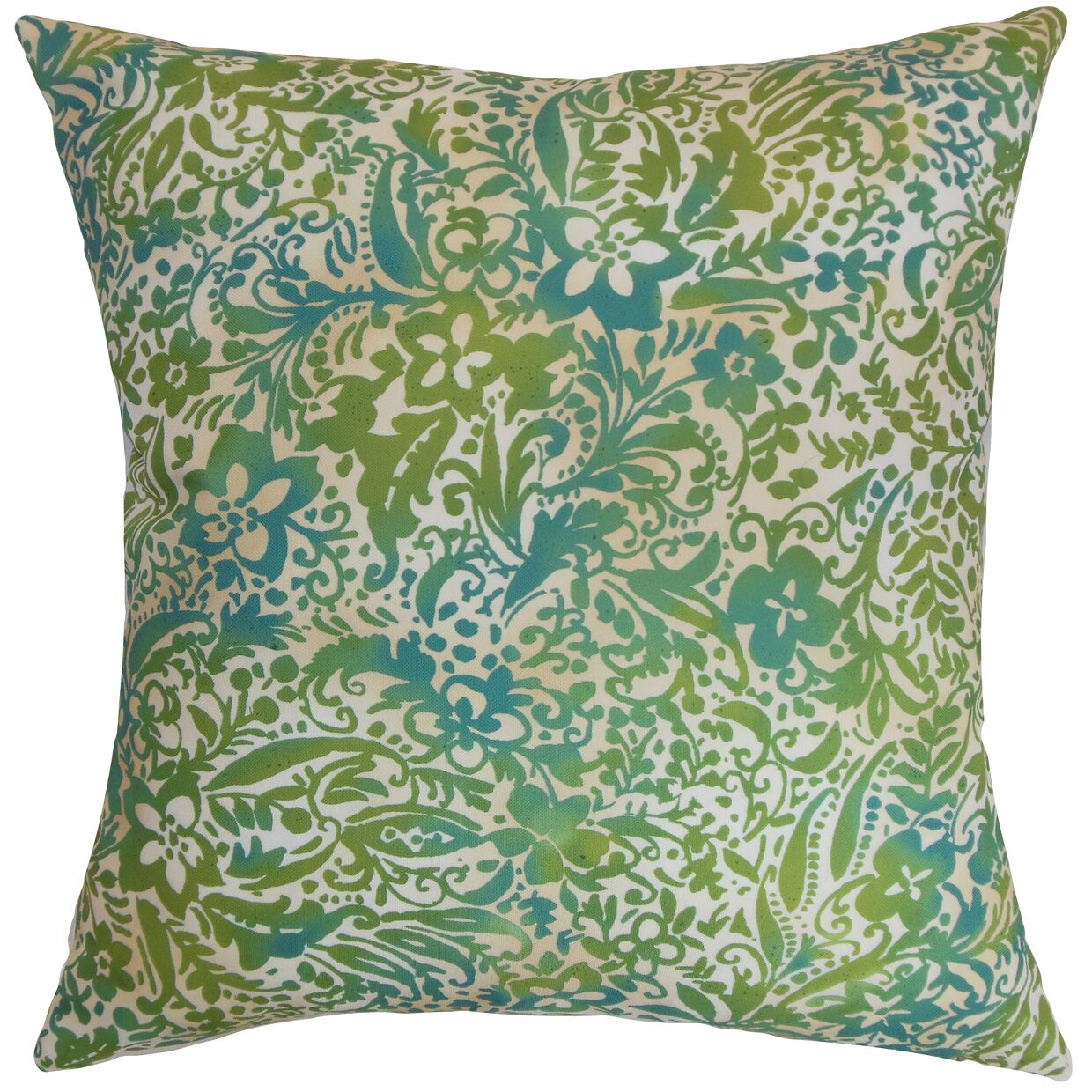 Shima Floral Bedding Sham Size: Queen