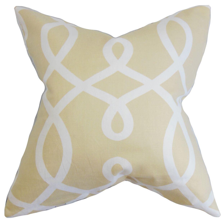 Chamblin Geometric Bedding Sham Size: King, Color: Neutral