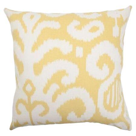 Teora Throw Pillow Color: Citrus, Size: 20