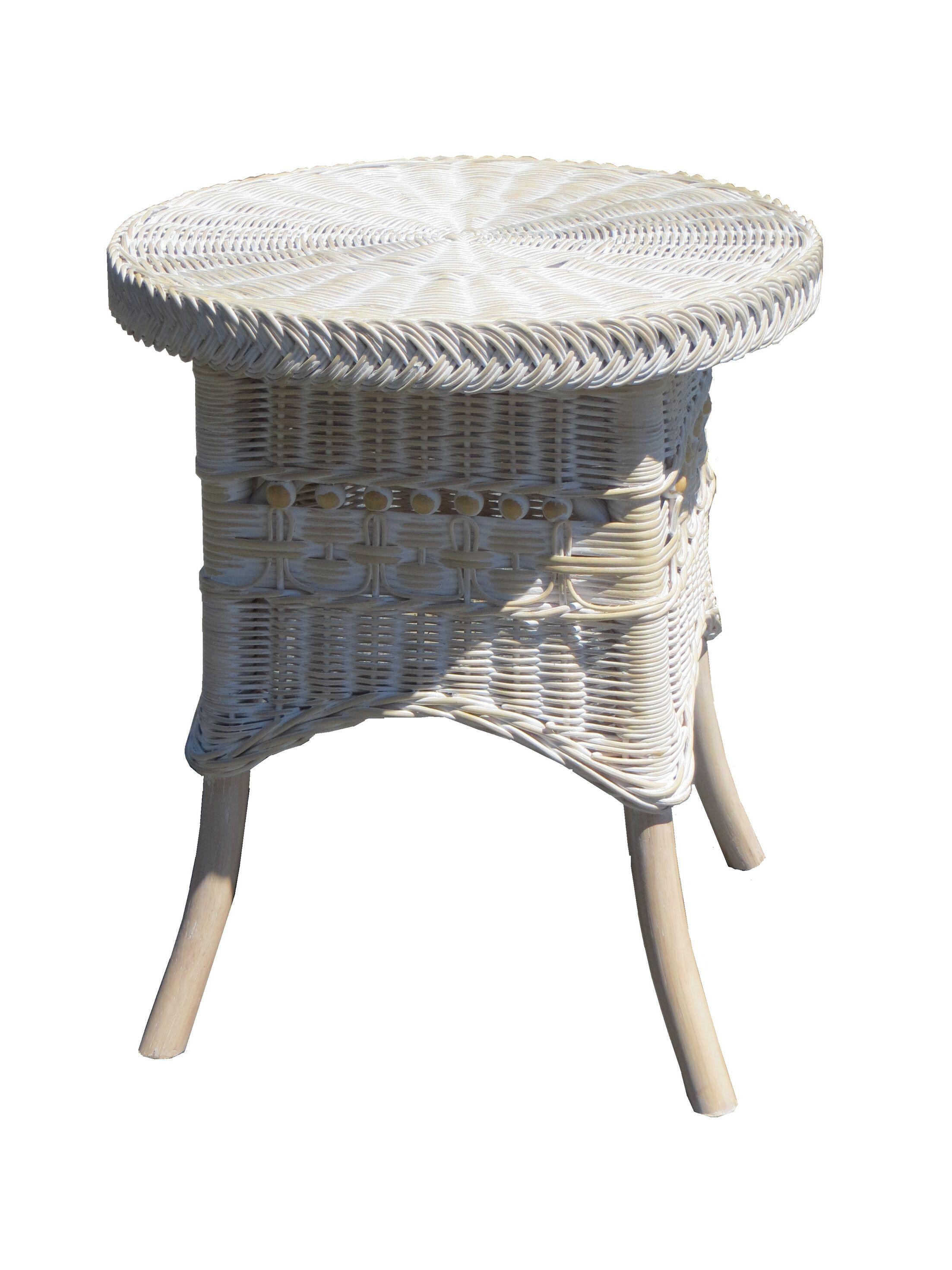 End Table Color: Whitewash, Size: 19