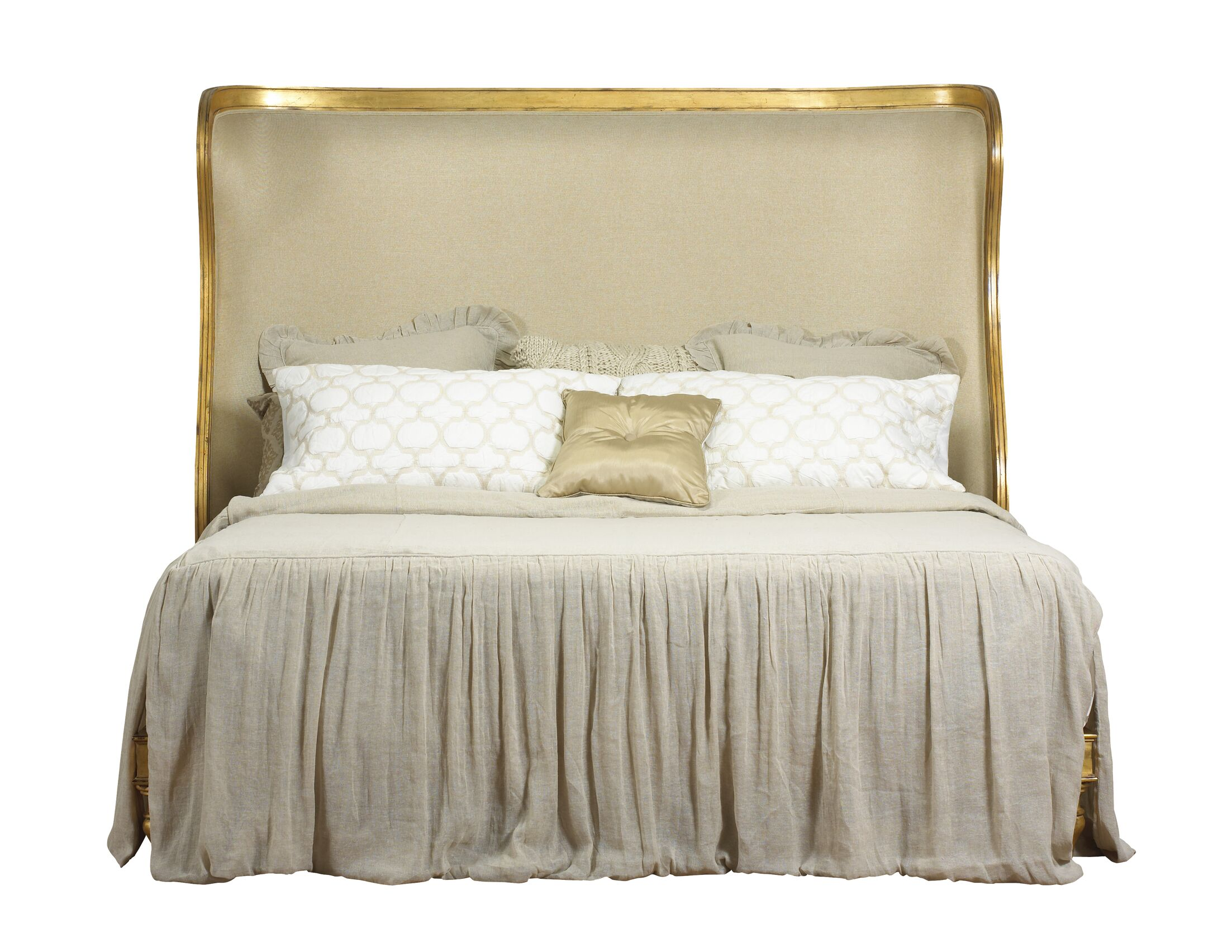 Pizano King Upholstered Platform Bed