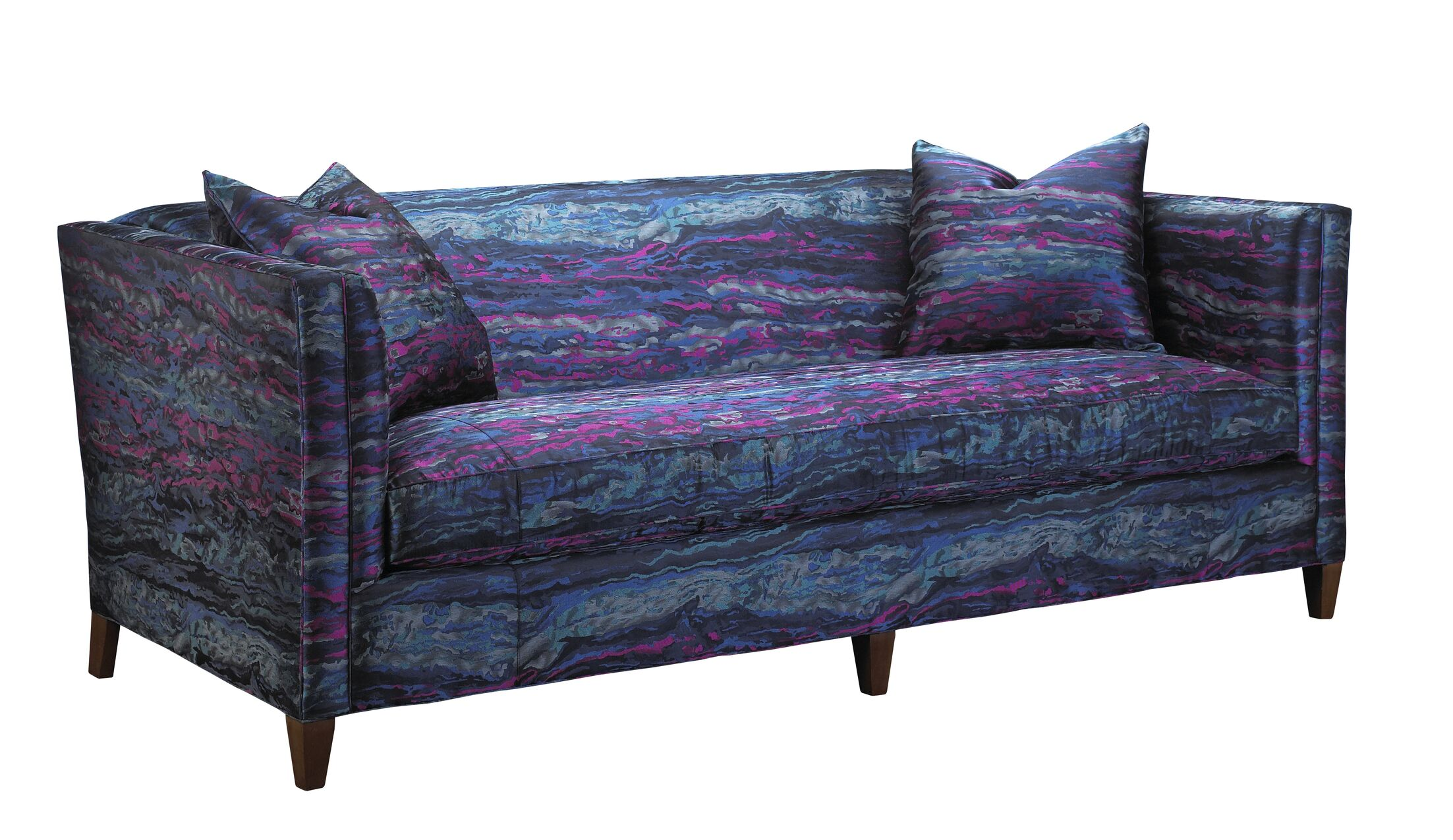 Kepler Sebastian Sofa Upholstery: Poly/Silk